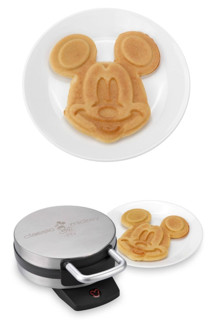 Awesome Mickey Mouse #waffle maker - great for #kids!