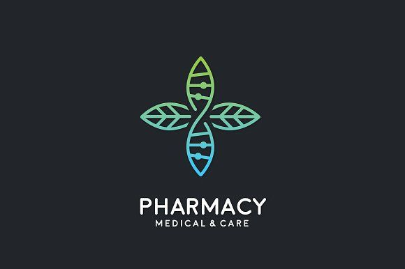 Medical Logo by Visual Curve on @creativemarket