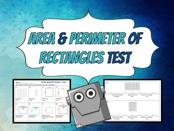Such a great resource! Students will use the area and perimeter formulas to solve 10 problems. The test is made up of all short answer. The majority of the fonts used in this product is the font OpenDyslexic which is a new open source font created to increase readability for