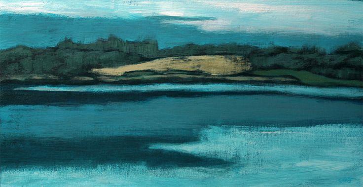 Fields By A River by ShaunMichaelJones.deviantart.com on @DeviantArt