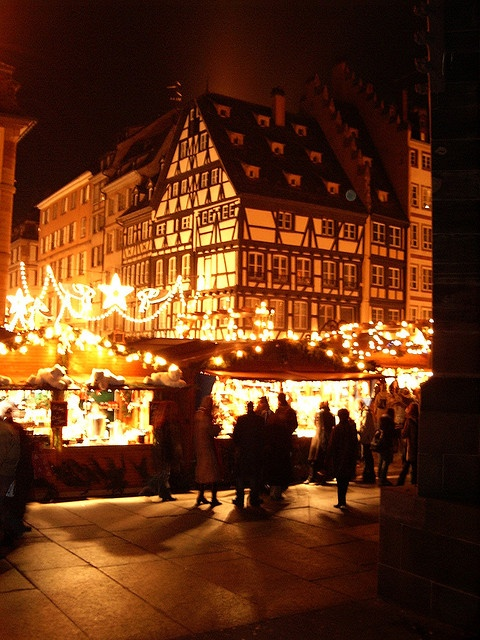 Strasbourg Christmas Market- One of my all time favorite childhood memories was the Christmas Markets in Strasbourg
