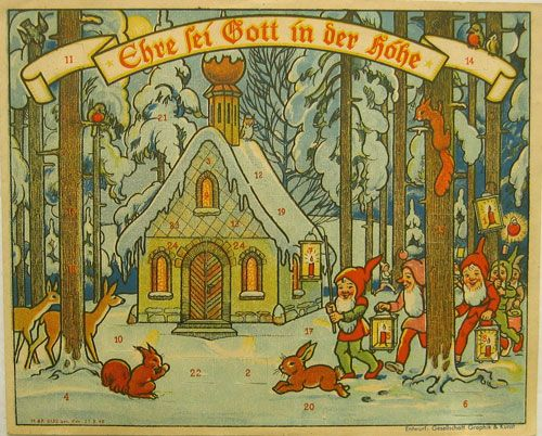 Art Deco Advent Calendar : Best advent calendars images on pinterest christmas