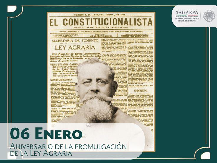 Aniversario de la promulgación de la Ley Agraria. SAGARPA SAGARPAMX
