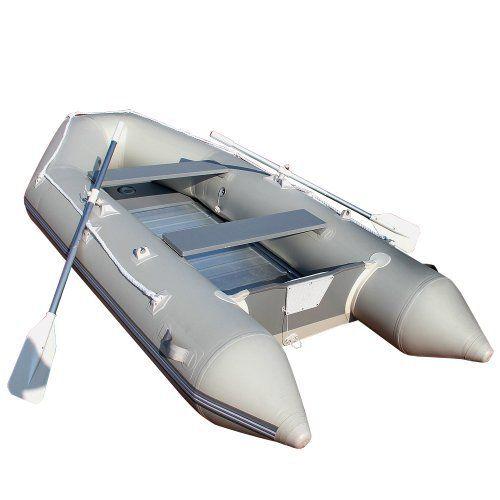 Jago – Bateau Pneumatique Gonflable pour 4+1 Personnes Rames et Pompe Inlcus 320 x 152 cm: Pour vos vacances à la mer, pensez à mettre dans…