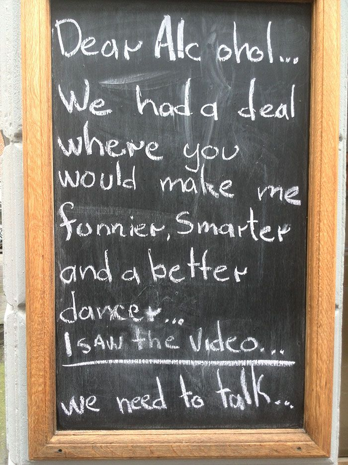 Funny Bar and Cafe Chalkboard Signs.                                                                                                                                                                                 More