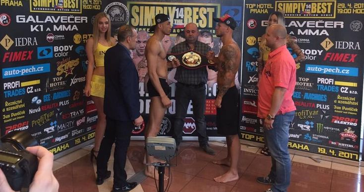 Kickboxing series Simply The Best Season 3 Episode 14 Prague is held on Saturday, April 29, 2017 at Top Hotel Praha, Prague, Czech Republic.
