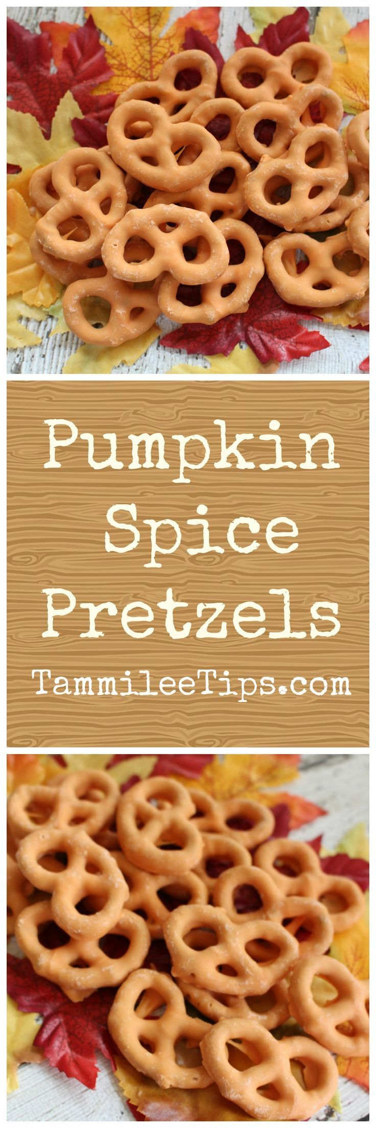 Pumpkin Spice Pretzel Recipe! The perfect fall snack recipe that is so easy to make. If you love pumpkin you will love this recipe.