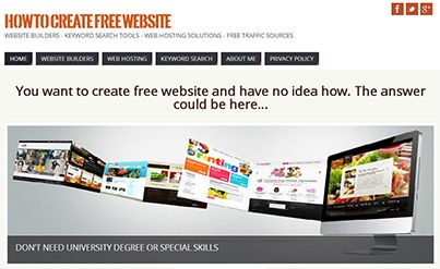 A new website has been submitted to our directory:  Title: How to Create a Free Website, Description: Best solutions to create a website fast and free, Link: http://howtocreatefreewebsite.net/