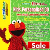 Great deal! Download 3 FREE personalized Elmo songs (with your child's name!)  by going to https://www.justmemusic.com/redeem1/index1.php (code: myelmo). You can also download the entire CD (23 songs) for less than $ 10 with this code. The songs turn out so cute!