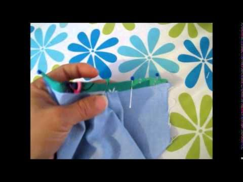 SLCC Intermediate Sewing Demo: Continuous Placket - YouTube