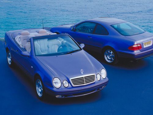 german-cars-after-1945:  1998 Mercedes CLK 320...