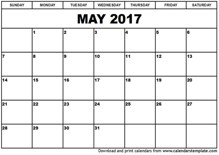 Calendar Organization Xiii : May calendar template organization ideas