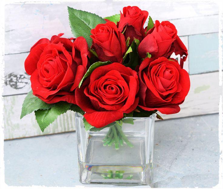 Ideas about red rose arrangements on pinterest