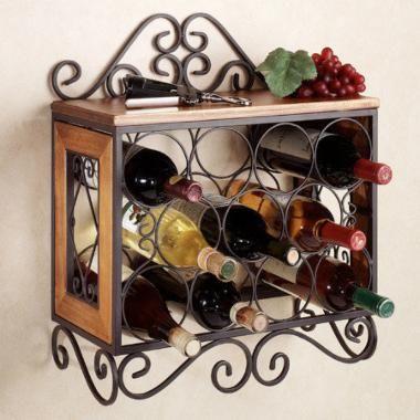 Milan Wall Wine Rack