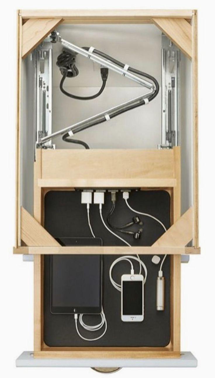 Aufbau einer Ladestation in der Schublade #aufbau…