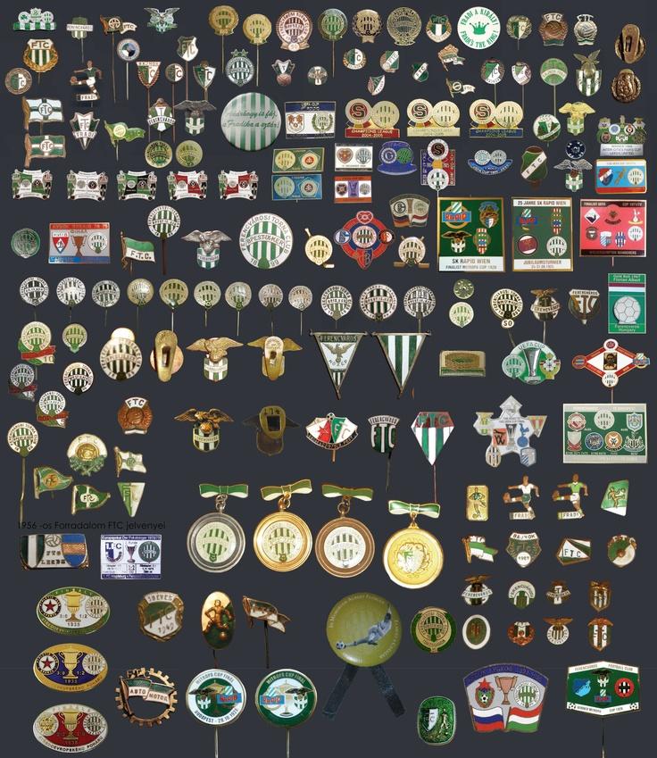 Ferencvaros pin collection
