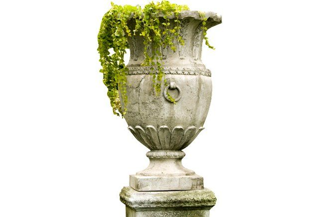 "30"" Appian Vessel, Cathedral White"