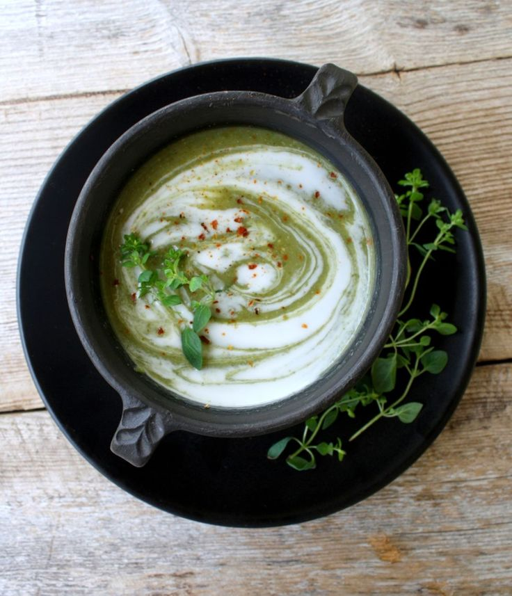 lindastuhaug | Brokkoli og spinatsuppe
