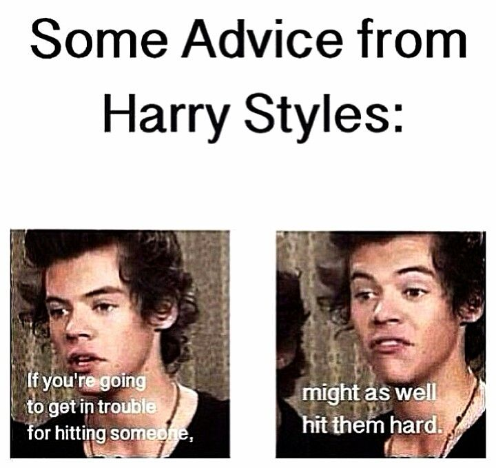 OKAY HARRY ILL REMEMBER THAT NEXT TIME.