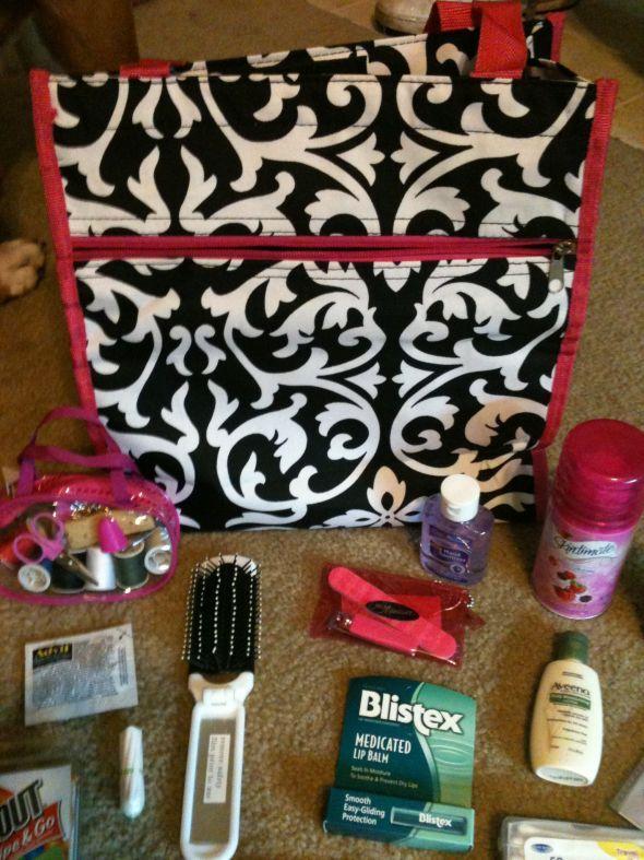 Bridesmaid Survival kits - Marcie & I will both have some similar :)