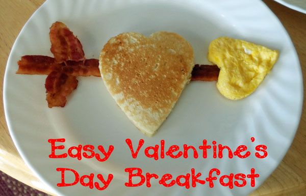 Easy Valentine's Day Breakfast from thejoysofboys.com : Fun Food for Valentines Day #valentinesday #funfood