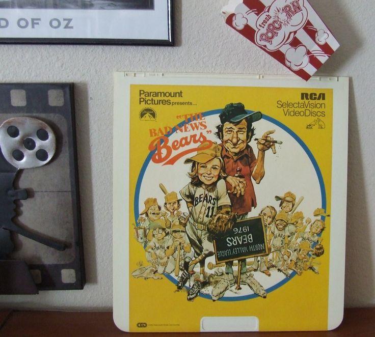 Home Theater Decor, The Bad News Bears, Media Room Decor, Movie Room Decor, Wall Decor, Office Decor, Vintage Movie, Movie Room, RCA Movie by BeautyMeetsTheEye on Etsy