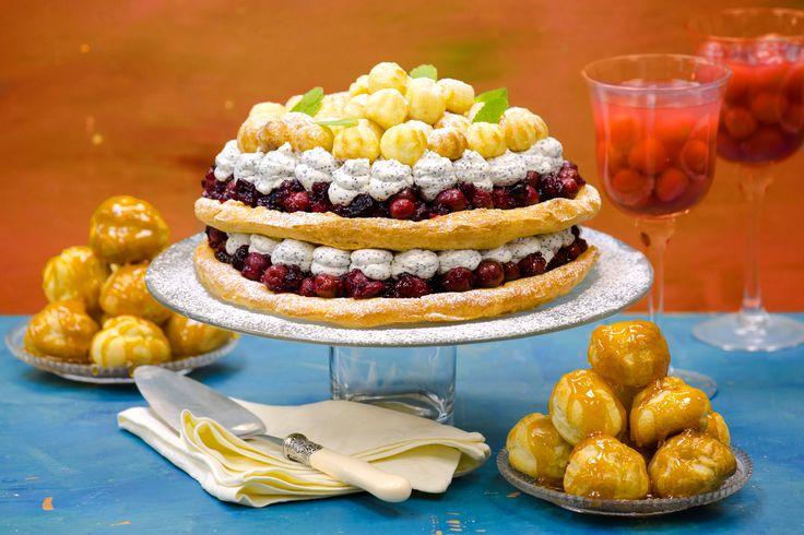 РЕЦЕПТЫ И СОВЕТЫ ХОЗЯЙКАМ: Мастер-класс. Заварное тесто для торта