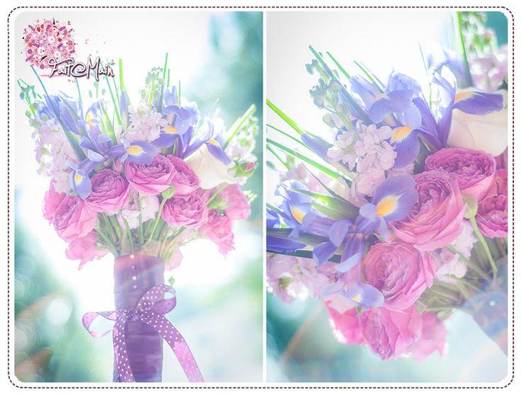 """""""Duchesse"""" wedding bouquet"""