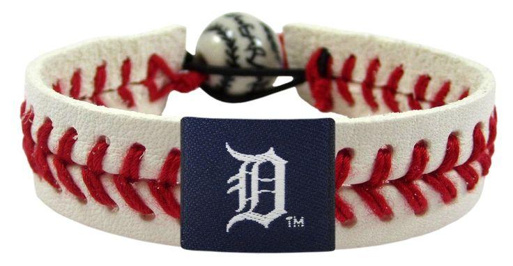 Detroit Tigers Baseball Bracelet - Classic Style