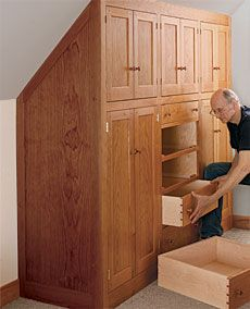 Preview - Beautify Your Home with a Shaker Built-In - Fine Woodworking Article