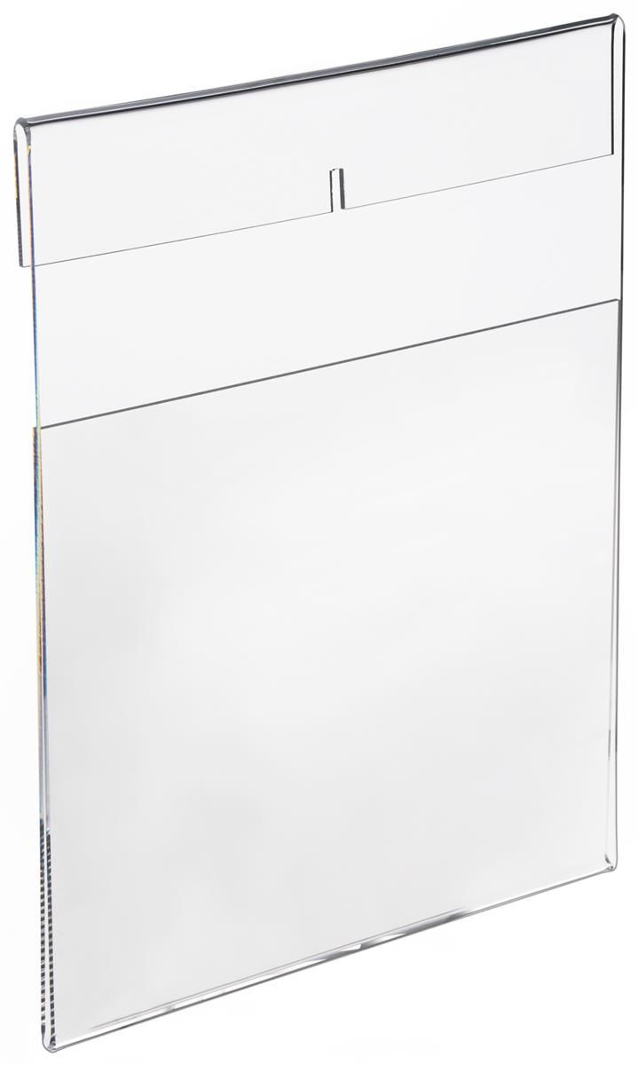 Workshop Series 8 5 X 11 Acrylic Sign Holder For Wall