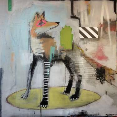 """Saatchi Art Artist Jérôme Rochette; Painting, """"Dessine moi un Animal"""" #art"""