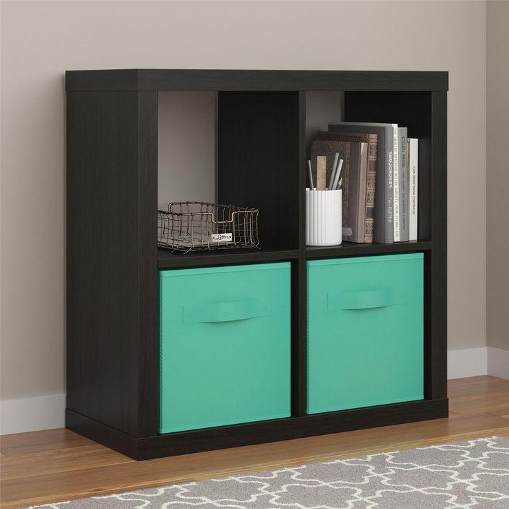 Parsons Hollow Core 4 Cube Organizer, Espresso