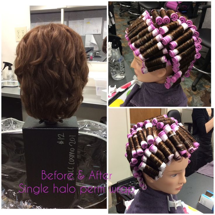 Single Halo Perm Wrap Oct 20 Chemical Texture Services