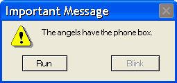 the angels have the phonebox....thats one of my favorites....ive got that on a t-shirt