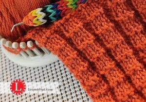 Loom Knitting Stitches Guide : 761 best Loom Knitting images on Pinterest