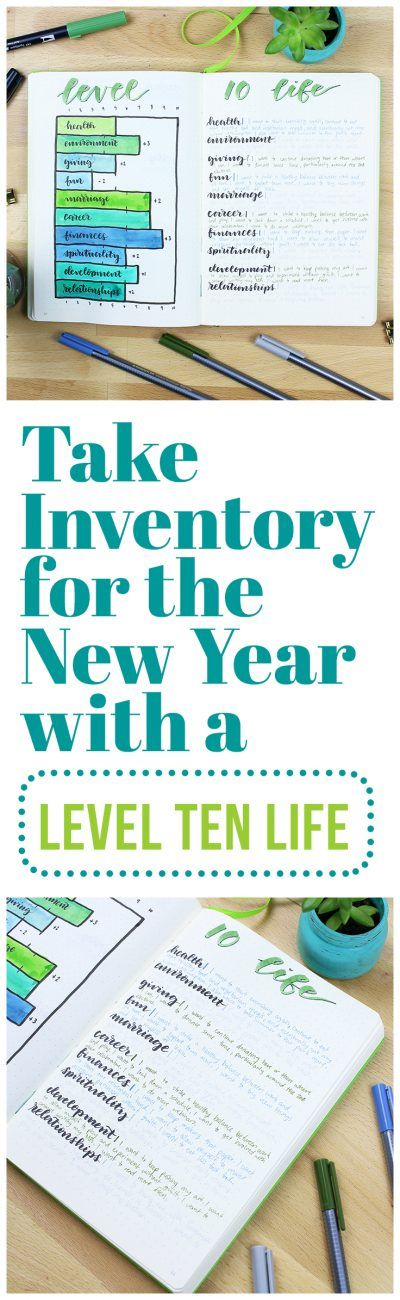 There's no better way to kick off the new year than by creating a Level Ten Life! This fun, in-depth chart allows you to dive into your goals life nothing else, and it's super effective when you do it at the beginning of a new year! via @LittleCoffeeFox