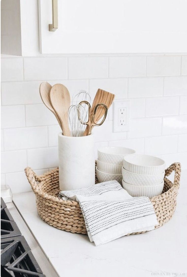 Download Wallpaper Next White Kitchen Accessories