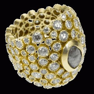 Gorgeous coral reef ring, for sale now!