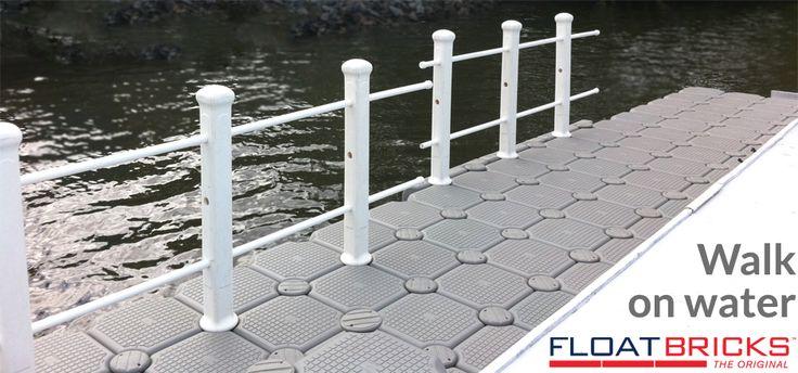 Walk on water with FloatBricks