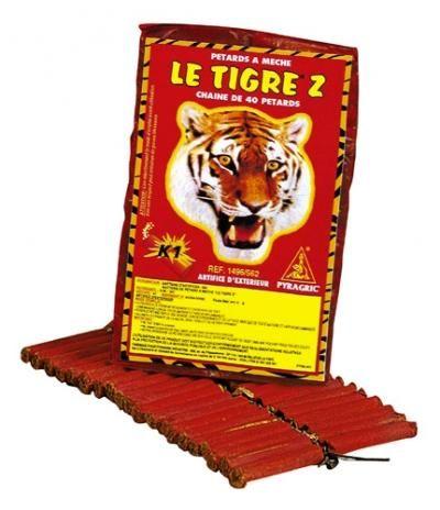 LES Pétards Le Tigre pour la fête du 14 juillet et la retraite aux flambeaux à La Tranche-sur-Mer