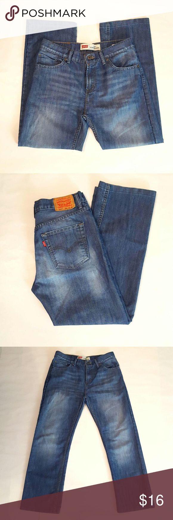 "🔵Levi's 514 Slim Straight Jeans Levi's 514 Slim Straight Jeans. Size 20 Reg. Measurements: W30"" x L30"", W76cm. 26 1/2"" inseam. Levi's Jeans Straight Leg"