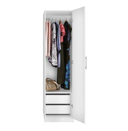 De 25 bedste id er inden for narrow wardrobe p pinterest for 15 inch wide closet door