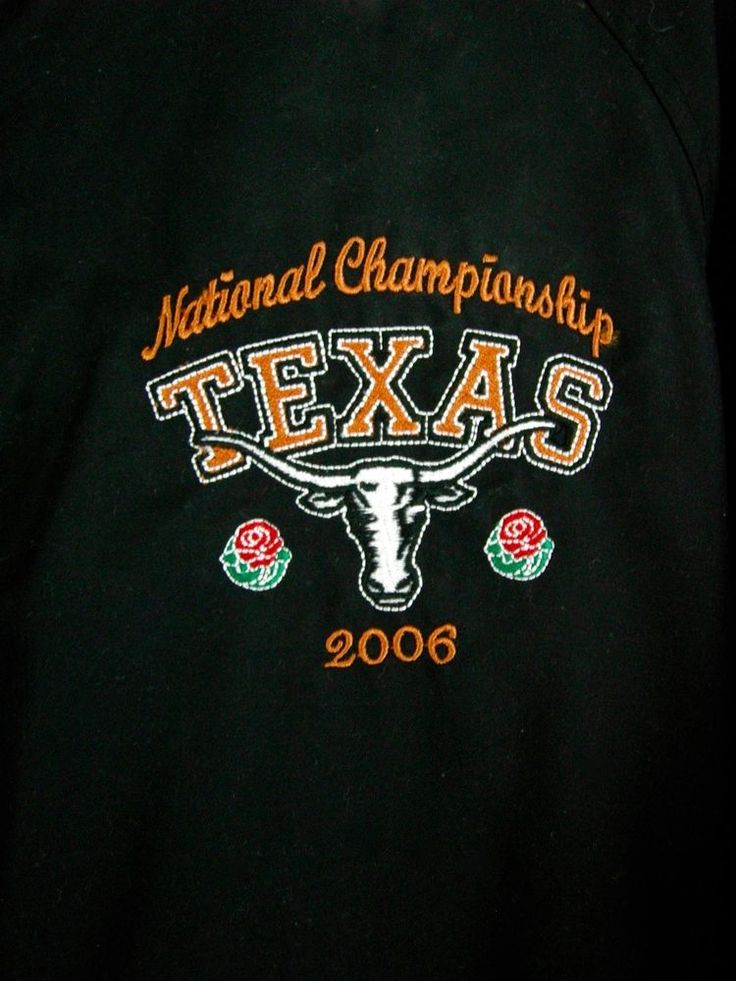 NCAA 2006 Rose Bowl Texas UT USC National Championship Pullover Size S Unisex #ChestnutHill #Pullover