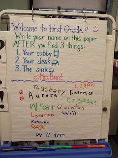 First Grade O.W.L.s: Parent Orientation