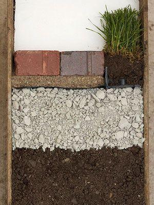 Build a Brick Path