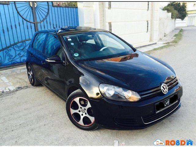 Voitures à vendre #Annonce #Tunisie #voiture #Annonce voiture a vendre Monastir, à vendre golf 6 sport chic première main 5ch essence moteur 1.4 montage allemand économique très prestigieuse entretient...