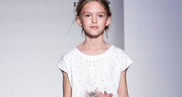 T-shirt T-shops PE 2014: Bambine sempre più chic e alla moda