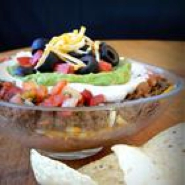 Seven Layer Dip I 15 Servings, Prep Time: 15 Minutes, Cook Time ...
