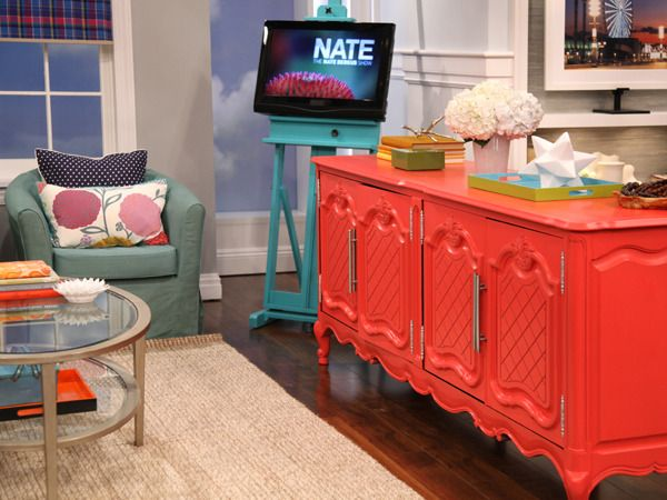 Transform Your Thrift Finds With Color. I can't resist.Buffets, Decor, Nate Berkus, Painted Furniture, Thrift Stores Finding, Goodwill Hunting, Painting Furniture, Thrift Store Finds, Diy